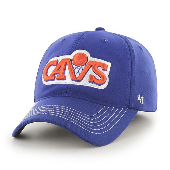 Cleveland Cavaliers Game Time Closer Royal 47 Brand Stretch Fit Hat