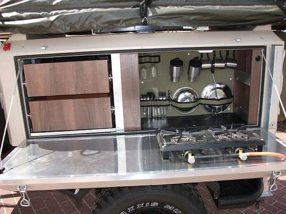 Camper Kitchens Camping Trailer Hire And Camper Trailer