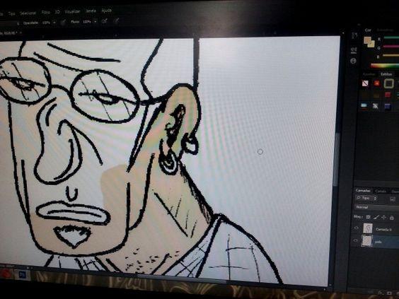 Colorindo cartuns velhos,por pura preguiça de fazer novos...