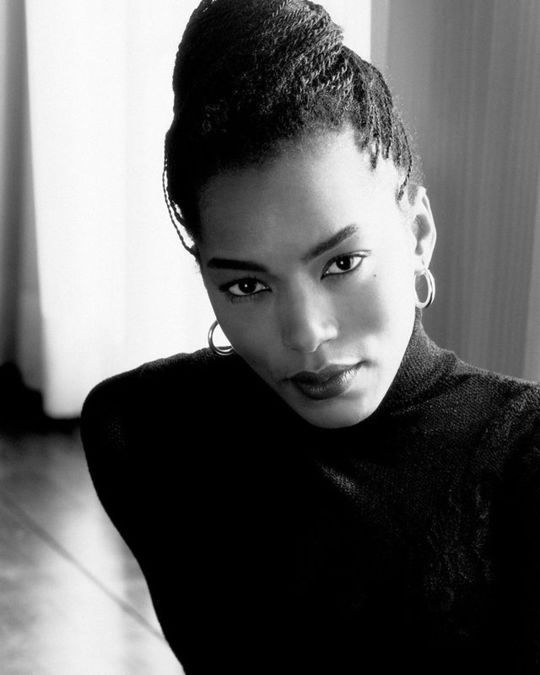 """vintagesalt: """"Angela Bassett photographed by Timothy White 