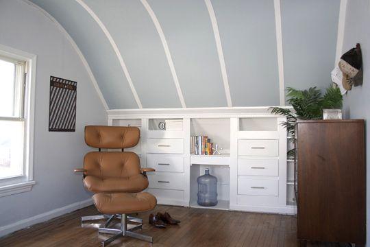 Fix for sloped ceilings?
