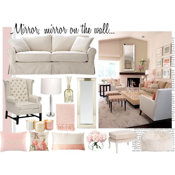"""Room & Board Dream Living Room Contest Entry"" by anushka-du-plessis on Polyvore"