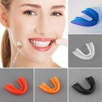 Wish | Adult Mouthguard Mouth Guard Oral Teeth Protect For Boxing Sports MMA Football Basketball Karate Muay Thai Safety
