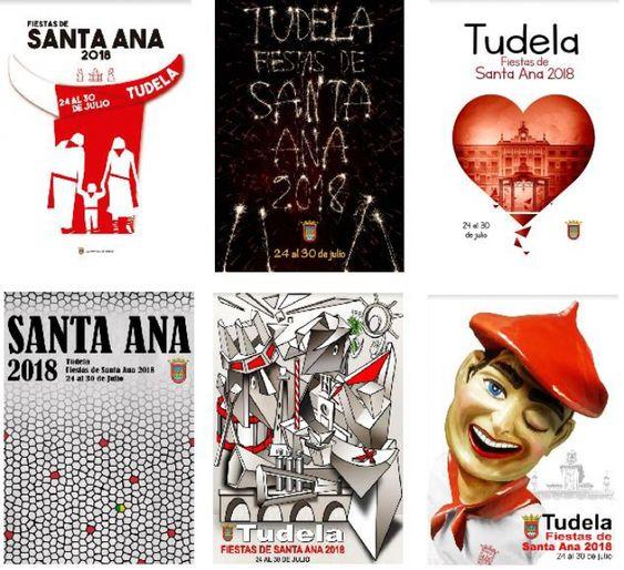 Carteles Fianlistas Tudela 2018 finalistas definitivos