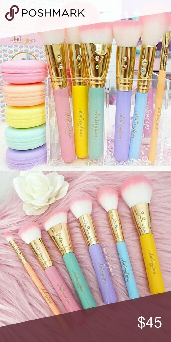 Slmissglam Macaroon Brush Set 100 authentic Inspired by