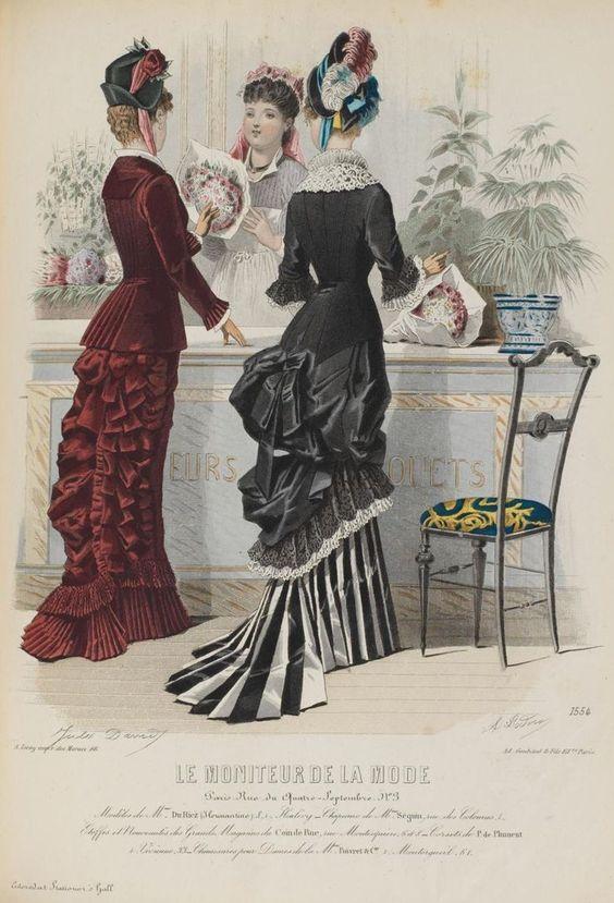 1878 Le moniteur de la mode