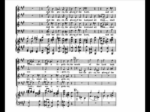 Glory Of The Lord Handel S Messiah Music Nerd Music Lesson