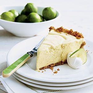 Key Lime Ice Cream Pie | MyRecipes.com