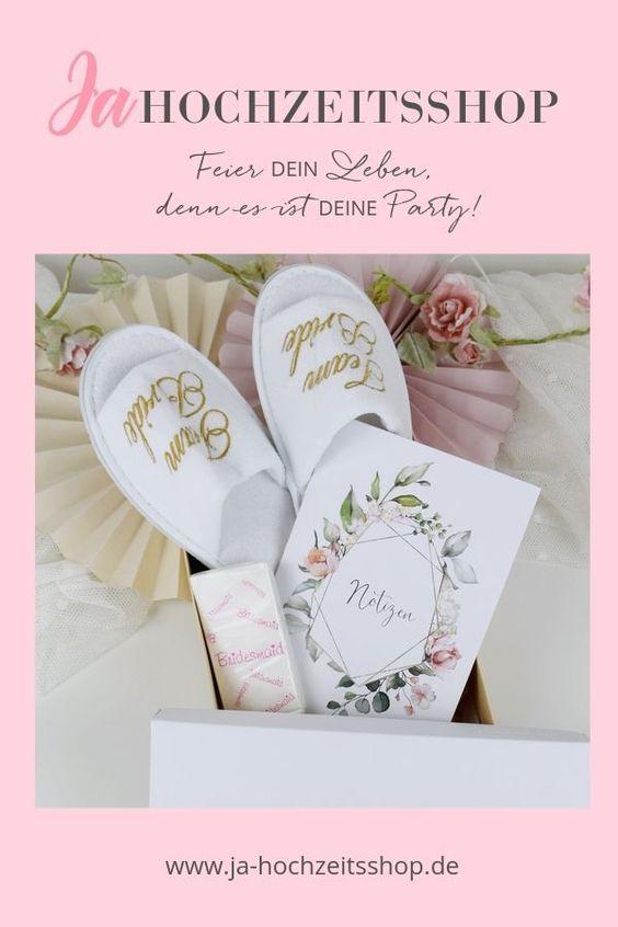 Geschenkset Brautjungfer Hochzeit Shop Geschenk Hochzeit Trauzeugin Und Brautjungfern