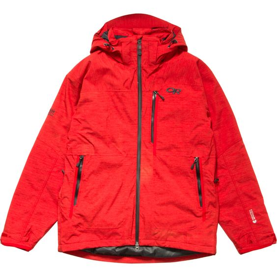 Outdoor Research Stormbound Jacket (Hot Sauce/Charcoal)