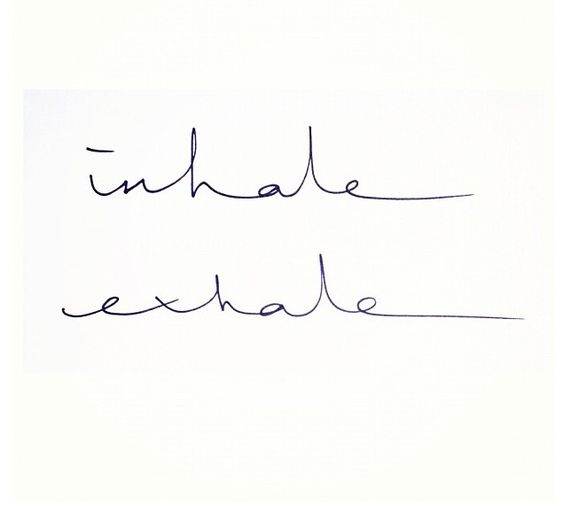 """Don't take this link. No idea where it goes - a dating site maybe. I just like the """"inhale exhale"""" idea as a tattoo!"""
