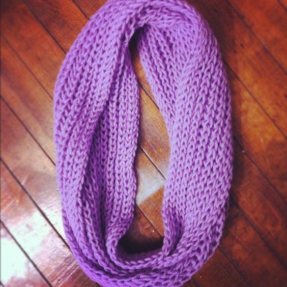 Knitting Brioche Stitch Scarf : Brioche Stitch infinity scarf. Knitting Pinterest Scarfs, Stitches and ...