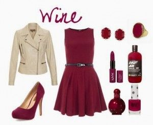 Outfit Zapatos Vino | Outfits ) | Pinterest | Zapatos And Outfit