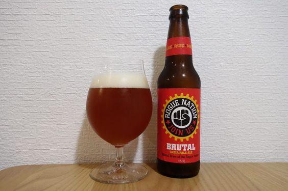 Bia Rogue Brutal IPA 6% - Chai 330ml