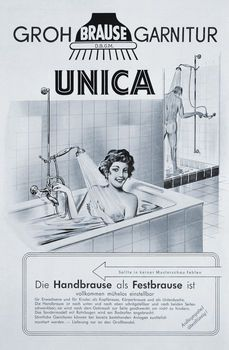 Die Hansgrohe Unica war 1953 die weltweit erste Brausestange. Für das Bad-Museum sucht Hansgrohe nun Deutschlands älteste Unica Brausestange...
