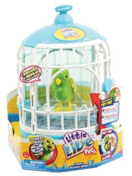 LITTLE LIVE PETS BIRD CAGE - CAGE #1 FRIENDLY FRANKIE
