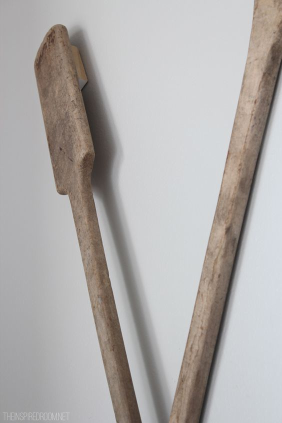Paddles Over The And How To Hang On Pinterest