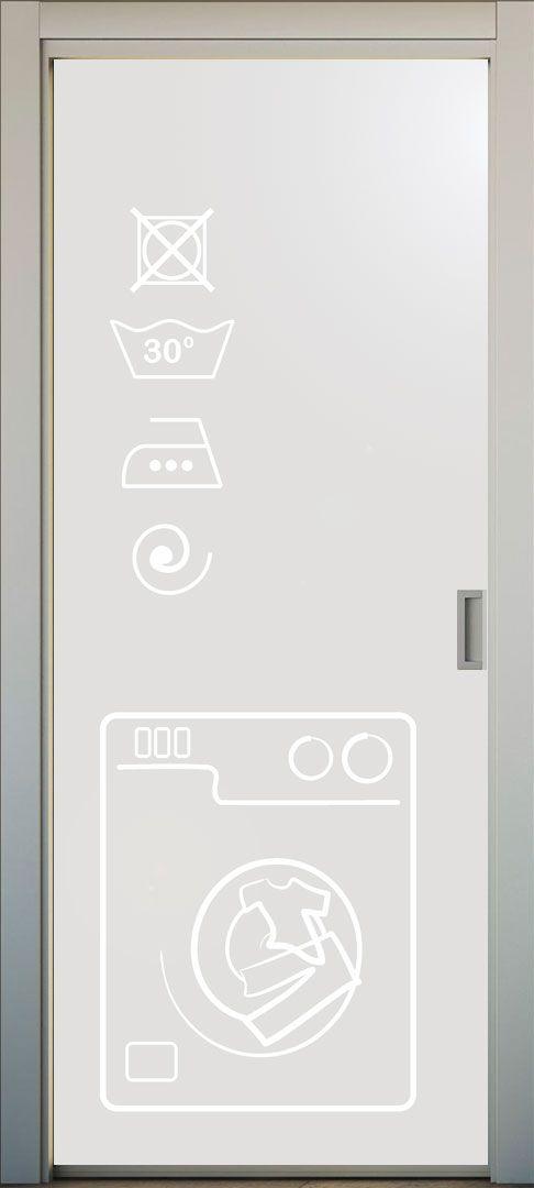 Vinilo translucido para puerta de cocina. el dibujo puede ser ...