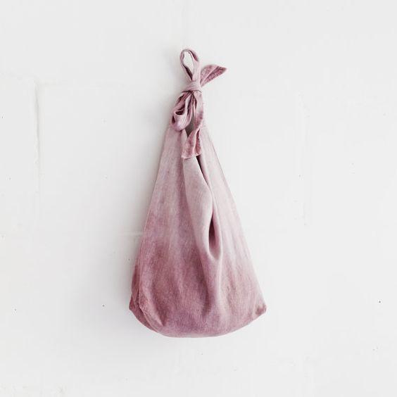 Leinentasche / große Shoulder Bag / natürliche Leinen von taftyli