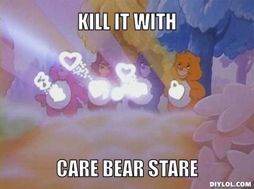 Care Bear Stare | Motivation | Pinterest | Care bears and ...