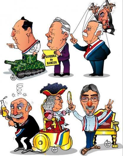 Presidentes del Paraguay (1989-2012)