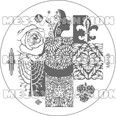 Messy Mansion Image Plate MM49