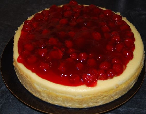 Cherry Cheese Cake from CDKitchen.com