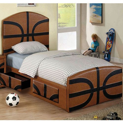 Details About Fun Sports Themed Designed Youth Bed Frame Set Beds Sports And Youth