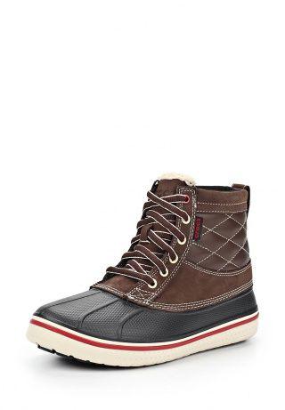 Ботинки Crocs, цвет: коричневый. Артикул: CR014AMAEB55