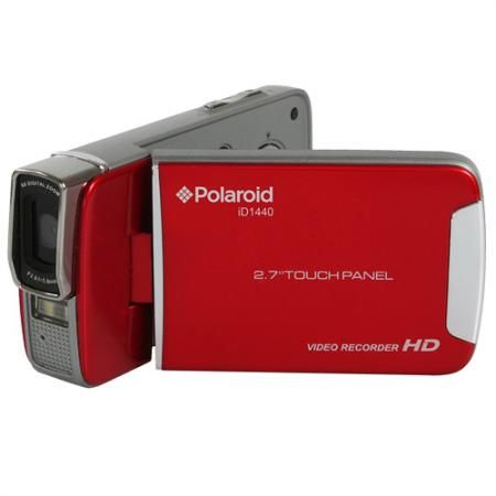 #Polaroid 14.1MP HD #Camcorder with 2.7″ Touch Screen