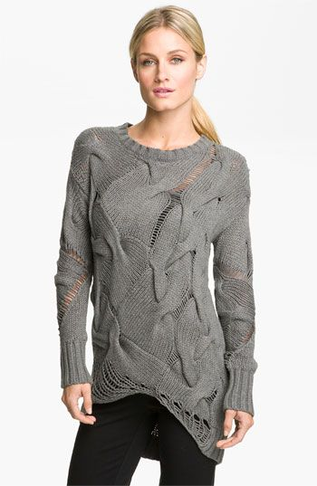 MICHAEL Michael Kors Mixed Stitch Sweater: