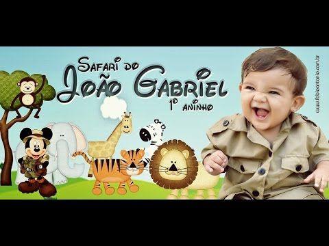 VideoMIX Safari João Gabriel 1º aninho