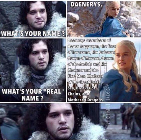 Si cette rencontre avait eu lieu, Jon se serait fait troller