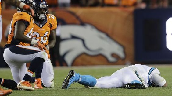The NFL just fined two Broncos for their helmet-to-helmet hits on Cam Newton