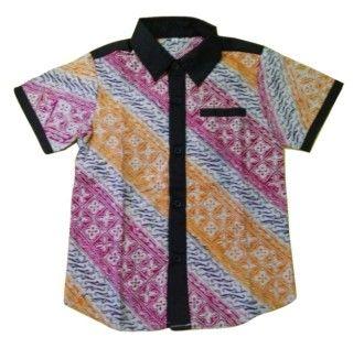 Kemeja Batik Anak Arindra K-144A