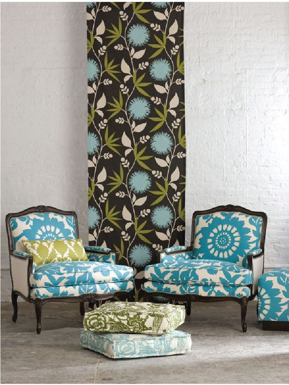 like the fabric on the chairs