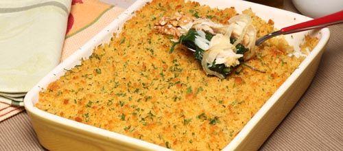 Bacalhau com broa e frutos secos
