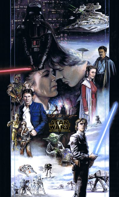 The Empire Strikes Back In One Poster
