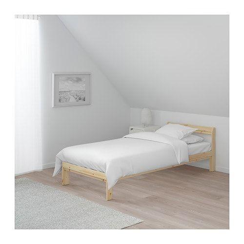 Neiden Bed Frame Birch Luroy Twin Luroy Pine Bed Frame Bed Bed Slats