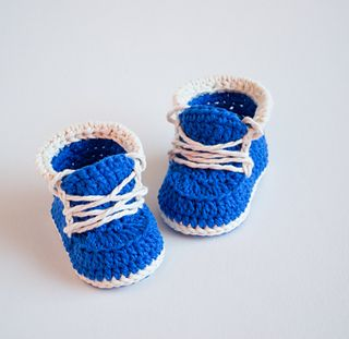 Crochet Baby Booties PATTERN by Croby Patterns