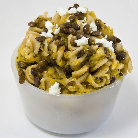 Browned Butter and Pumpkin Lentil Pasta by Delairen, via Flickr