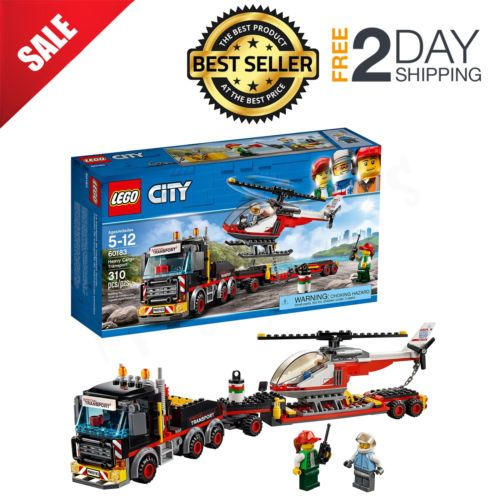 Heavy Cargo Transport 60183 310 Pcs LEGO® City Great Vehicles