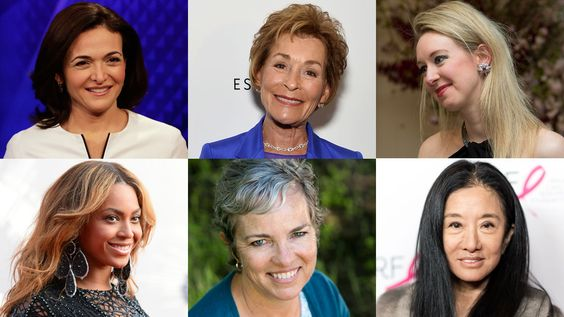 Forbes First Ever Ranking Of America's Richest Self-Made Women includes Oprah Winfrey, Sheryl Sandberg, Vera Wang, Beyonce and Judge Judy among others.