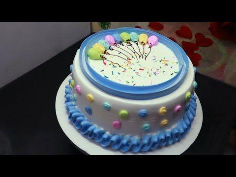 Tortas Y Pasteles Para Cumpleanos Decoracion De Torta Para Principiantes Youtube Tortas Pastel De Tortilla Pastel De Betun Decorados