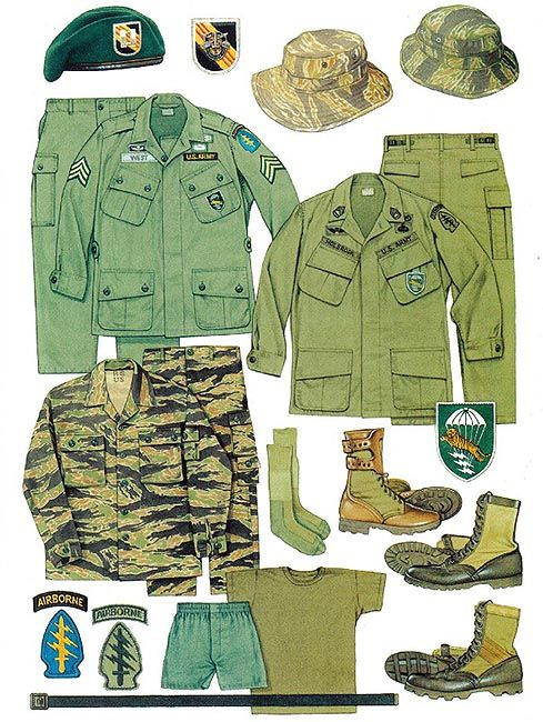 Green Beret Uniform