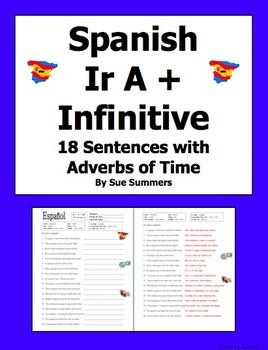 adverbs sentences and spanish on pinterest. Black Bedroom Furniture Sets. Home Design Ideas
