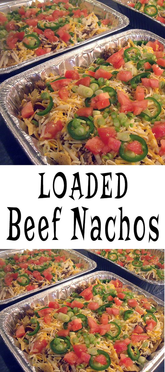 ... Loaded Nachos | Recipe | Beef Nacho Recipes, Beef Nachos and Nachos