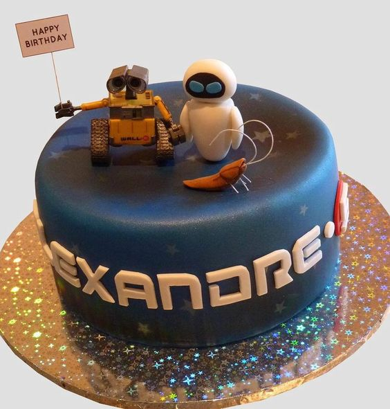 Wall . E. Birthday Cake | Flickr - Photo Sharing! #wall-e: