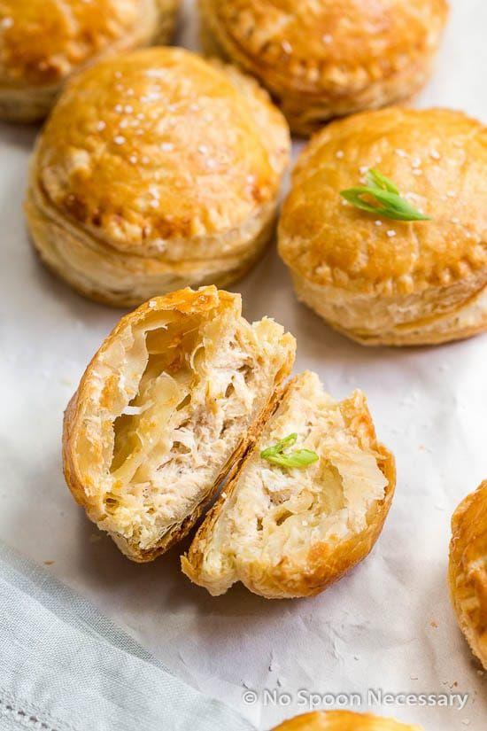 Crab Rangoon Mini Puff Pastry Bites