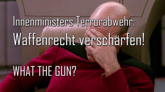 Terrorismusabwehr a la Thomas de Maizière: Waffenrecht verschärfen! AKTION!